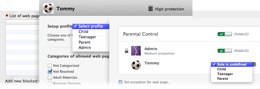 image: Parental Control