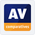 4,5 Star Rating: Recommended by AV Comparatives