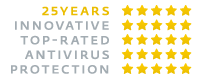 Logo - ESET :: 25 Years Innovative Top-Rated Antivirus Protection