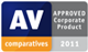 Logo AV-Comparatives - Approved Corporate Product 2011