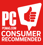 PCMag Consumer Recommended award