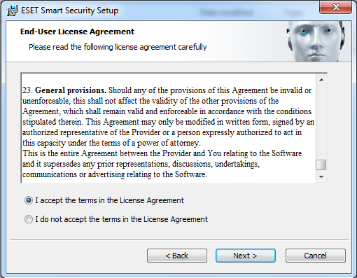 Eula Agreement Sample