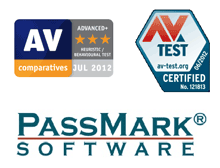 AV Comparatives, AV Test, PassMark Software